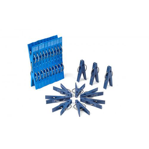 Прищепки МЕД 20 шт с металлическим фиксатором D102