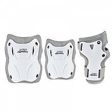 Комплект защитный Nils Extreme H407 Size L White/Grey