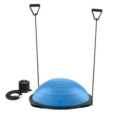 Балансировочная платформа 4FIZJO Bosu Ball 60 см 4FJ0036 Blue, фото 2