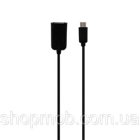 USB OTG CA157 Micro Цвет Чёрный, фото 2