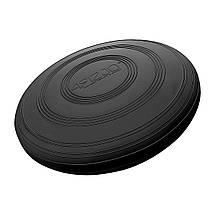 Балансувальна подушка (сенсомоторна) масажна 4FIZJO XXL MED+ 4FJ0205 Black, фото 2