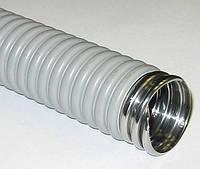 Металорукав 26мм в ізоляції (рукав металевий ізольований), фото 1