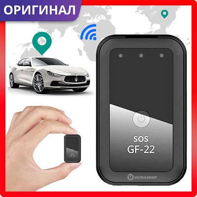 Лучший GPS-трекер 2021 - GF-22 Original с HD Микрофоном • Точный Онлайн • GSM Диктофон + Магниты 21 09 08 07
