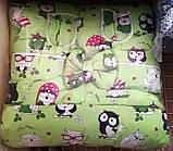 Набор детского постельного белья - 9 предметов, Бортики в кроватку малыша, Защита в манеж, фото 8