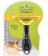 Фурминатор с кнопкой для чистки шерсти FURminator   Щетка-расческа для животных