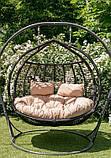 Підвісне крісло кокон Комфорт, фото 7