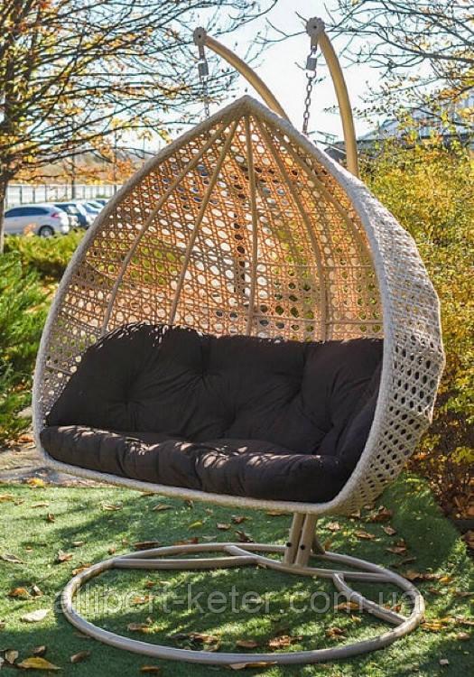 Підвісне крісло кокон Дабл Преміум