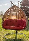 Підвісне крісло кокон Дабл Преміум, фото 2