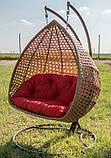 Підвісне крісло кокон Дабл Преміум, фото 4