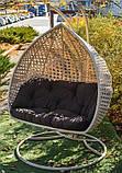 Підвісне крісло кокон Дабл Преміум, фото 6