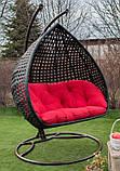 Підвісне крісло кокон Дабл Преміум, фото 5
