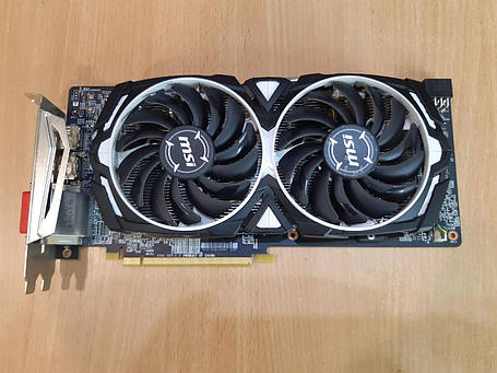 Відеокарта Radeon RX 580 OC, 8Gb DDR5, 256-bit, DVI/HDMI/3xDP, фото 2