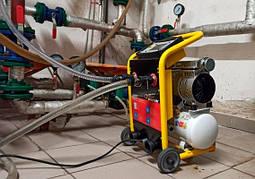 Установка для гидропневматической промывки систем отопления и водоснабжения BOOSTER AIRMAX