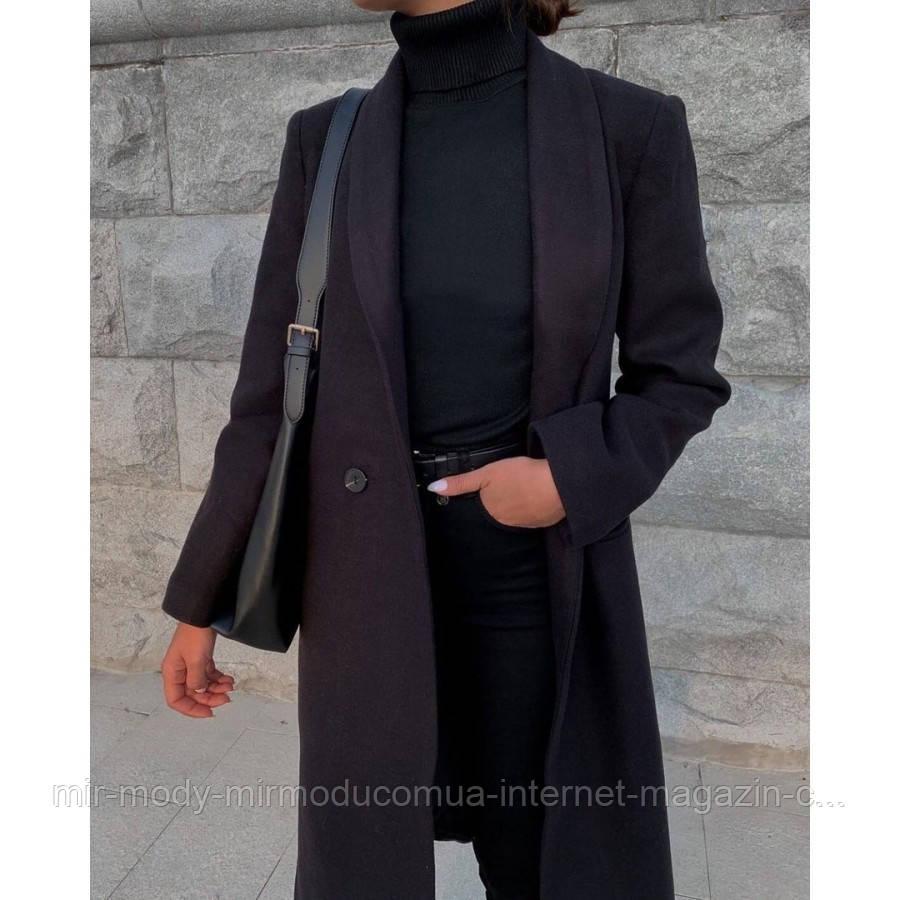 Кашемірове пальто осіннє арт 540-1540 з 42 по 54 розмір (мд-про 630-660)