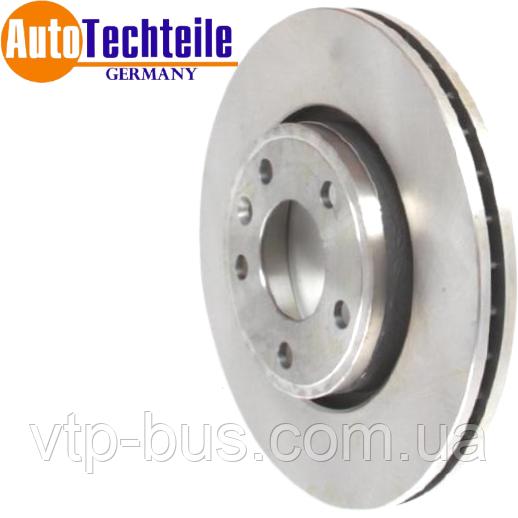 Тормозной диск передний на Renault Trafic / Opel Vivaro (2001-2014) AutoTechteile (Германия) 5040003