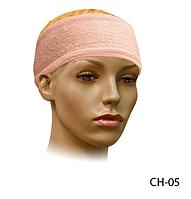 Круглая махровая повязка для фиксации волос Lady Victory LDV CH-05