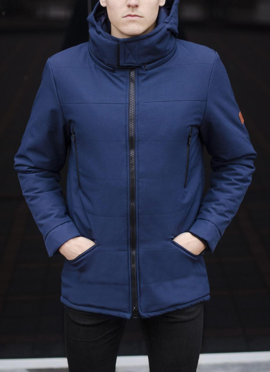 Куртка Парка зимняя мужская CS 1.6 (синяя)