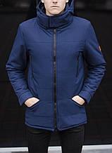 Куртка Парку зимова чоловіча CS 1.6 (синя)