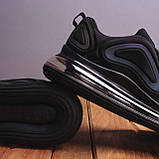 Мужские кроссовки Ривал АРТ 720 (черные), фото 5