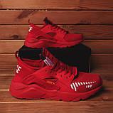 Мужские кроссовки Найс ОФФ (красные), фото 3