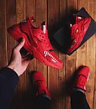Мужские кроссовки Найс ОФФ (красные), фото 5