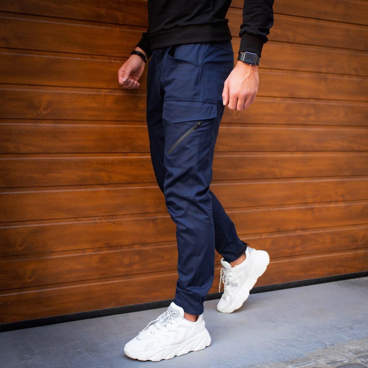 Мужские штаны Vibukh (синие)