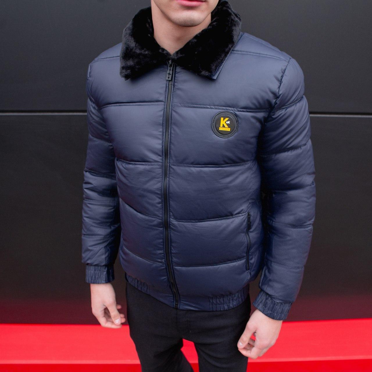 Мужская зимняя куртка Каденки (синяя)