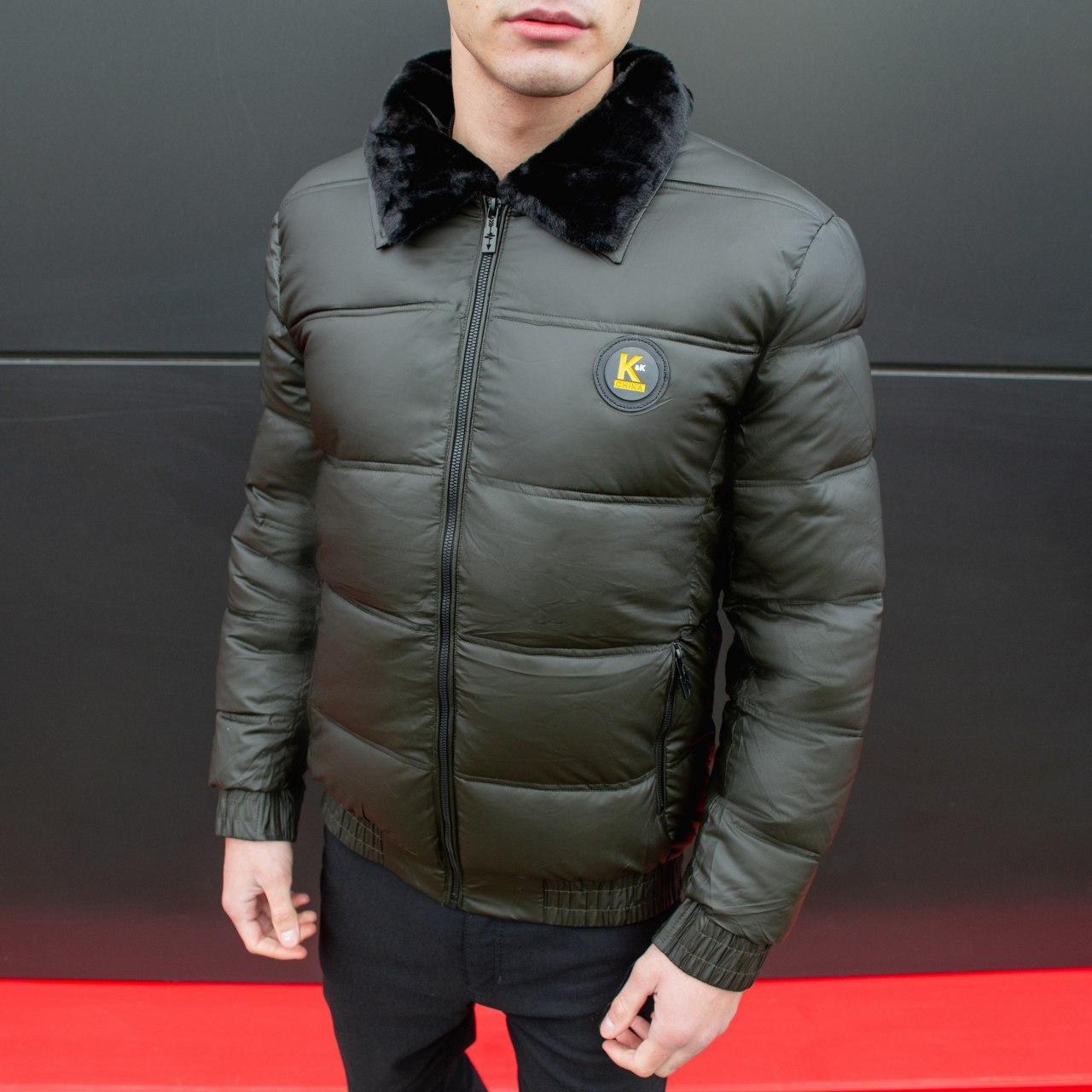 Мужская зимняя куртка Каденки (хаки)