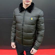 Чоловіча зимова куртка Каденки (хакі)