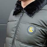 Мужская зимняя куртка Каденки (хаки), фото 5