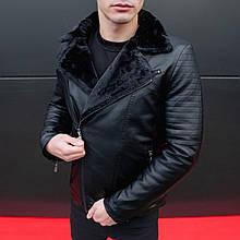 Чоловіча зимова куртка Ямаха (чорна)