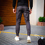 Чоловічі штани Vibukh на флісі (антрацит), фото 4