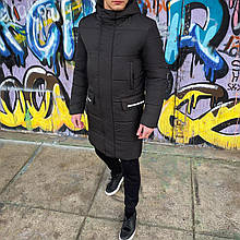 Мужская зимняя куртка 'Interstellar' (черная)