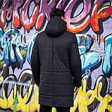 Мужская зимняя куртка 'Interstellar' (черная), фото 4
