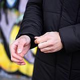 Мужская зимняя куртка 'Interstellar' (черная), фото 6