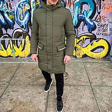 Мужская зимняя куртка 'Interstellar' (хаки)