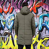 Мужская зимняя куртка 'Interstellar' (хаки), фото 7