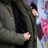 Мужская зимняя куртка 'Interstellar' (хаки), фото 8