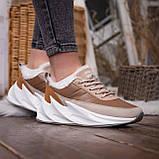Женские зимние ботинки Стилли Реберу (бело-коричневые), фото 3