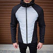 Мужская куртка Rafael (черно-рефлектив) - S
