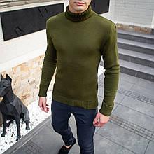 Мужской свитер Axelrod (хаки) - S