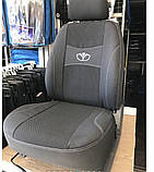 Авточехлы на Daewoo Matiz 1998> hatchback Nika, Дэу Матиз, фото 3