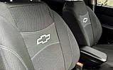 Авточохли на Chevrolet Aveo 2002-2011 sedan Nika, Шевроле Авео, фото 6