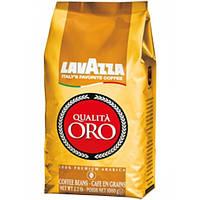"Кофе ""Lavazza"" зерно Qualita Oro 1кг золотистая ОРИГИНАЛ (100% арабика) (1/6)"