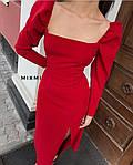 Платье с рукавом фонарик, фото 4
