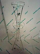 """Підставка кована кручена для квітів """"Вежа вита"""" на 5 вазонів, фото 2"""