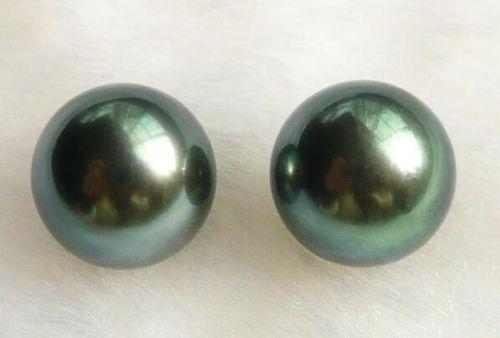 Чорний перли пара 8 - 9 mm Таїті