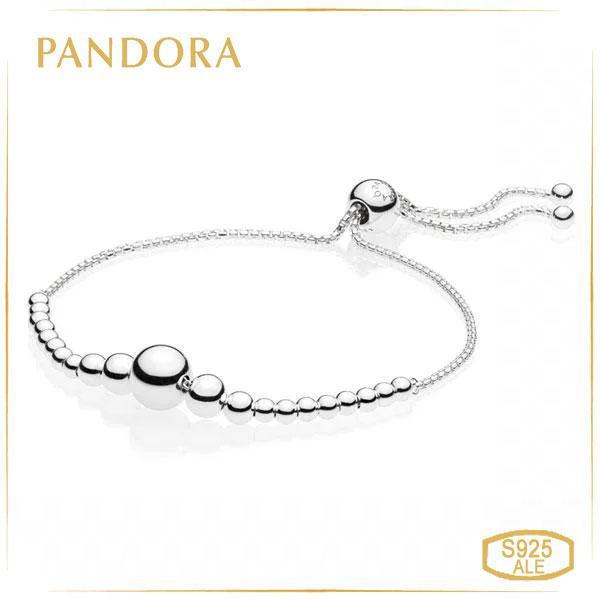 Пандора Браслет с регулируемой застёжкой Сферы (25 см) Pandora 597749