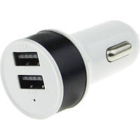 USB зарядка от прикуривателя в авто на 2 USB 004/0041 (2539)