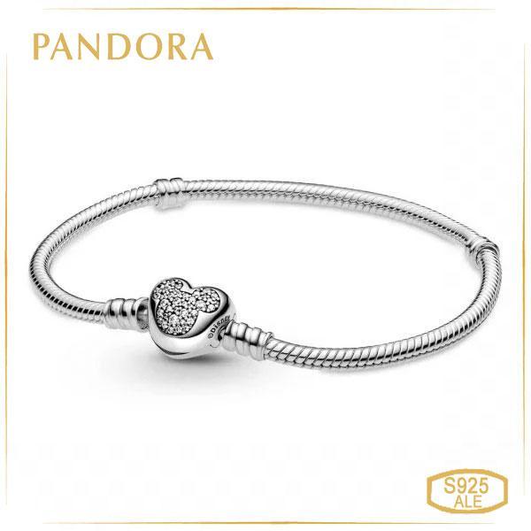 Пандора Браслет Pandora Moments Микки Маус, Disney (17 см) 599299C01